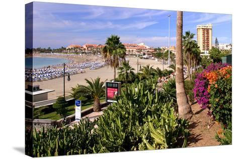 Playa De Las Vistas, Los Cristianos, Tenerife, Canary Islands, 2007-Peter Thompson-Stretched Canvas Print