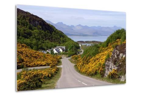 View of Skye, Highland, Scotland-Peter Thompson-Metal Print