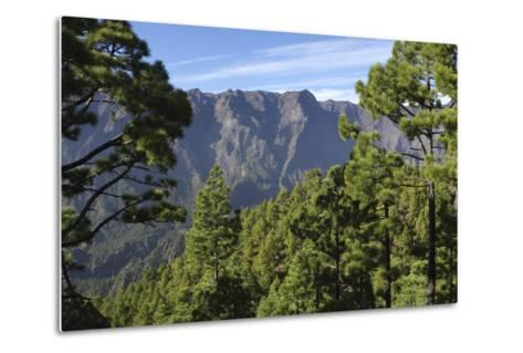 Parque Nacional De La Caldera De Taburiente, La Palma, Canary Islands, Spain, 2009-Peter Thompson-Metal Print