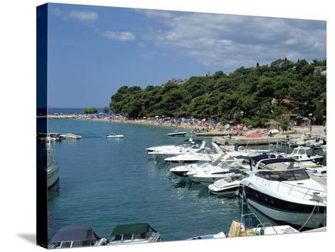 Brela, Makarska Riviera, Croatia-Peter Thompson-Stretched Canvas Print