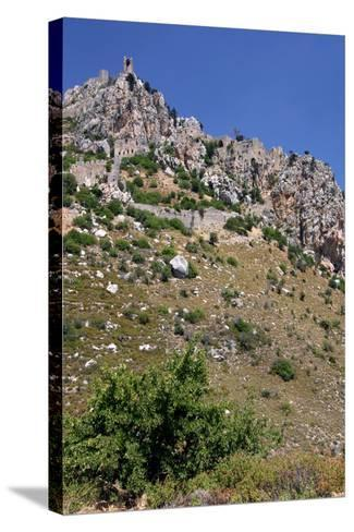 St Hilarion Castle, North Cyprus-Peter Thompson-Stretched Canvas Print