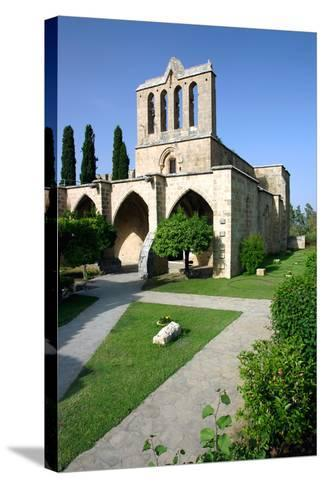 Bellapais Abbey, North Cyprus-Peter Thompson-Stretched Canvas Print