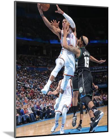 Milwaukee Bucks v Oklahoma City Thunder-Layne Murdoch-Mounted Photo