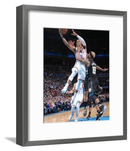 Milwaukee Bucks v Oklahoma City Thunder-Layne Murdoch-Framed Art Print
