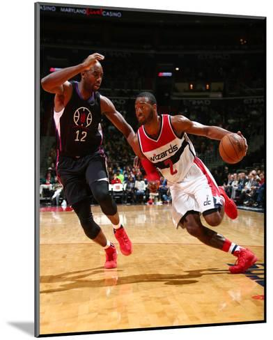 Los Angeles Clippers v Washington Wizards-Ned Dishman-Mounted Photo