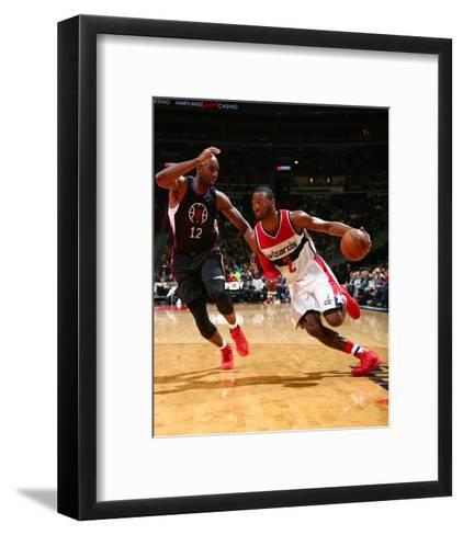 Los Angeles Clippers v Washington Wizards-Ned Dishman-Framed Art Print