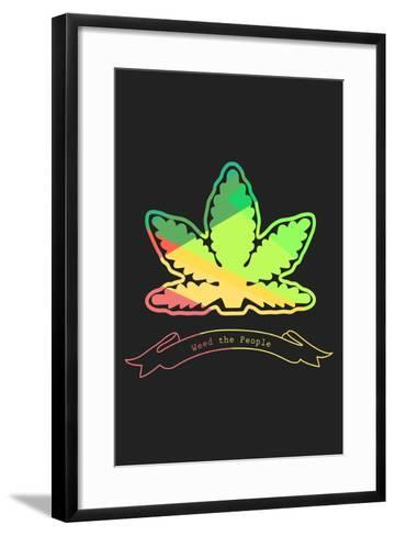 Weed The People--Framed Art Print