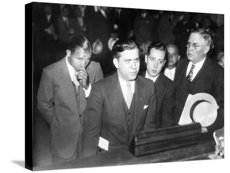 Gangster Jack Mcgurn, Was Arrested While Playing Golf in the Western Open in Chicago--Stretched Canvas Print