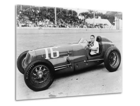 George Robson Was the Winner of the 1946 Indianapolis 500--Metal Print