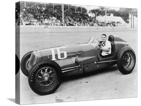 George Robson Was the Winner of the 1946 Indianapolis 500--Stretched Canvas Print