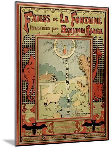 Book Cover of La Fontaine's Fables-Benjamin Rabier-Mounted Giclee Print