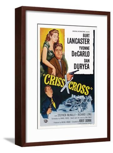 Criss Cross--Framed Art Print