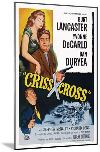 Criss Cross--Mounted Giclee Print