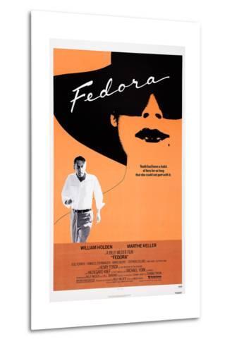 Fedora--Metal Print