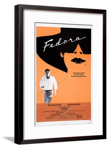 Fedora--Framed Art Print
