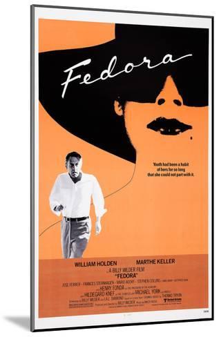 Fedora--Mounted Giclee Print