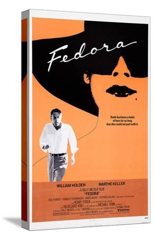 Fedora--Stretched Canvas Print