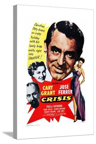 Crisis, 1950--Stretched Canvas Print
