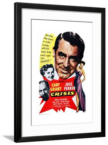 Crisis, 1950--Framed Art Print