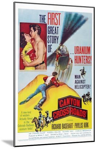 Canyon Crossroads--Mounted Giclee Print