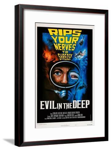 Evil in the Deep--Framed Art Print