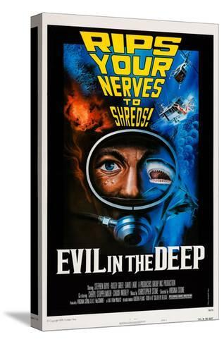 Evil in the Deep--Stretched Canvas Print