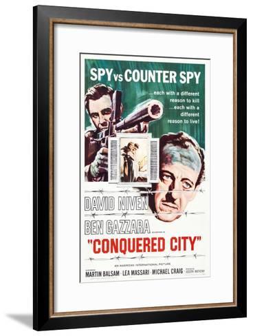 Conquered City--Framed Art Print