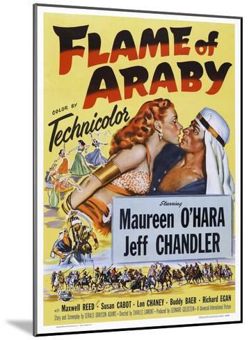 Flame of Araby--Mounted Giclee Print
