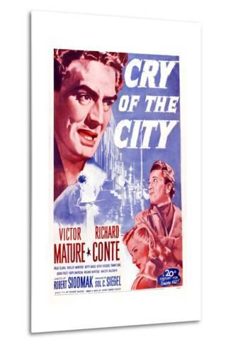 Cry of the City, Victor Mature, Richard Conte--Metal Print