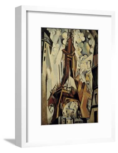 The Eiffel Tower, 1910-Robert Delaunay-Framed Art Print