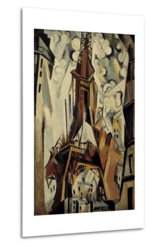 The Eiffel Tower, 1910-Robert Delaunay-Metal Print