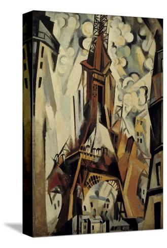 The Eiffel Tower, 1910-Robert Delaunay-Stretched Canvas Print