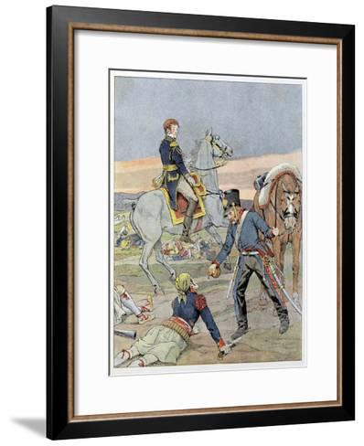 French Writer Victor Hugo as a Child-Jacques de Breville-Framed Art Print