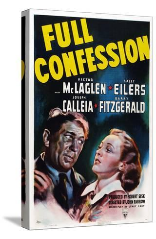 Full Confession--Stretched Canvas Print