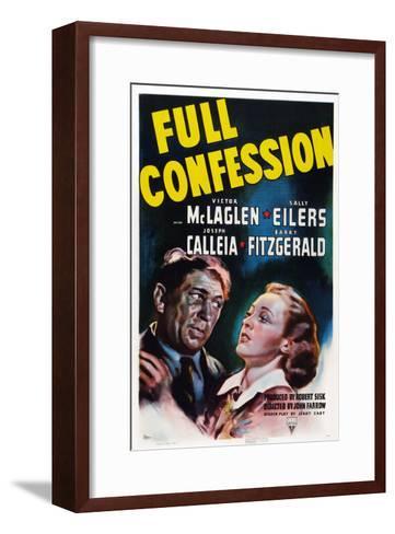 Full Confession--Framed Art Print