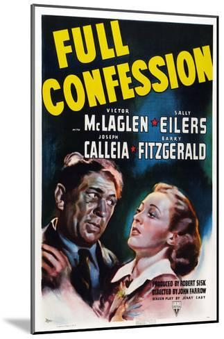 Full Confession--Mounted Giclee Print