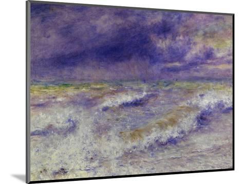 Seascape, 1879-Pierre-Auguste Renoir-Mounted Giclee Print