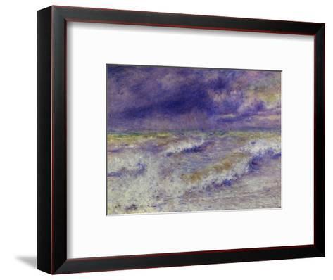 Seascape, 1879-Pierre-Auguste Renoir-Framed Art Print