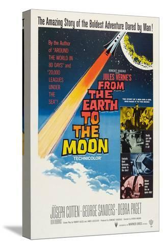 From the Earth to the Moon--Stretched Canvas Print