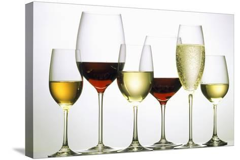 Wines and Champagne-Eising Studio - Food Photo and Video-Stretched Canvas Print