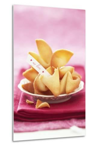 Chinese Fortune Cookies with Motto-Marc O^ Finley-Metal Print