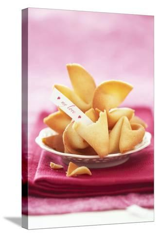 Chinese Fortune Cookies with Motto-Marc O^ Finley-Stretched Canvas Print