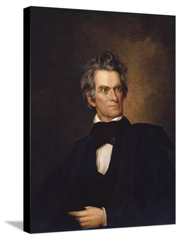American History Print of U.S. Vice President and Senator John C. Calhoun-Stocktrek Images-Stretched Canvas Print