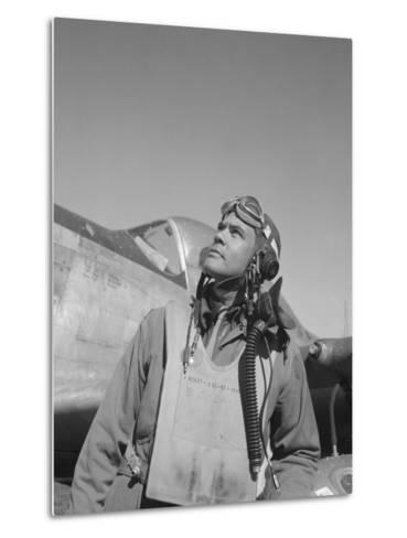 Benjamin Oliver Davis, Jr., Commander of the Tuskegee Airmen-Stocktrek Images-Metal Print