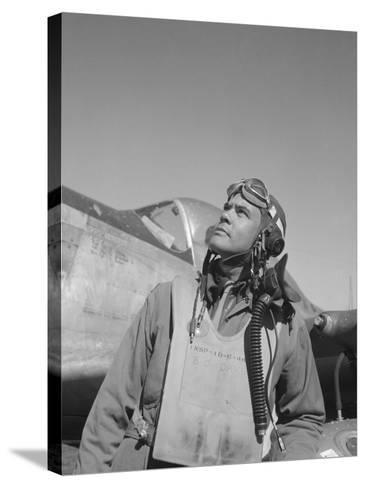 Benjamin Oliver Davis, Jr., Commander of the Tuskegee Airmen-Stocktrek Images-Stretched Canvas Print
