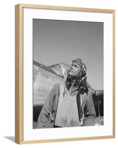Benjamin Oliver Davis, Jr., Commander of the Tuskegee Airmen-Stocktrek Images-Framed Art Print