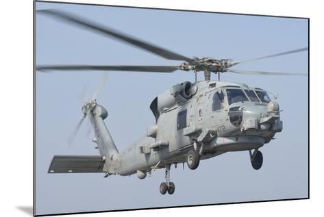 An Mh-60R Seahawk in Flight over the Persian Gulf-Stocktrek Images-Mounted Photographic Print