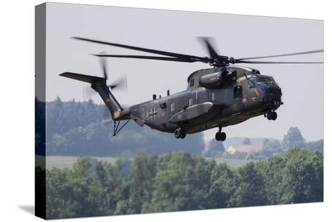 An Upgraded Ch-53Ga Helicopter of the German Air Force-Stocktrek Images-Stretched Canvas Print