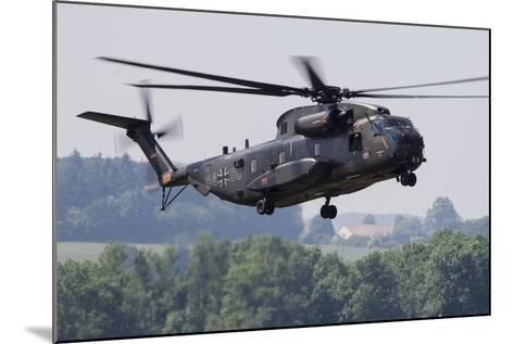 An Upgraded Ch-53Ga Helicopter of the German Air Force-Stocktrek Images-Mounted Photographic Print