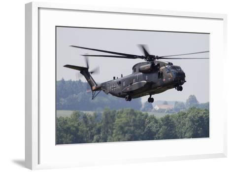 An Upgraded Ch-53Ga Helicopter of the German Air Force-Stocktrek Images-Framed Art Print